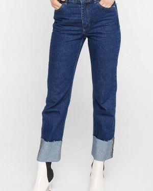 Прямые джинсы синие Musthave