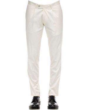 Białe spodnie bawełniane Sartoria Latorre