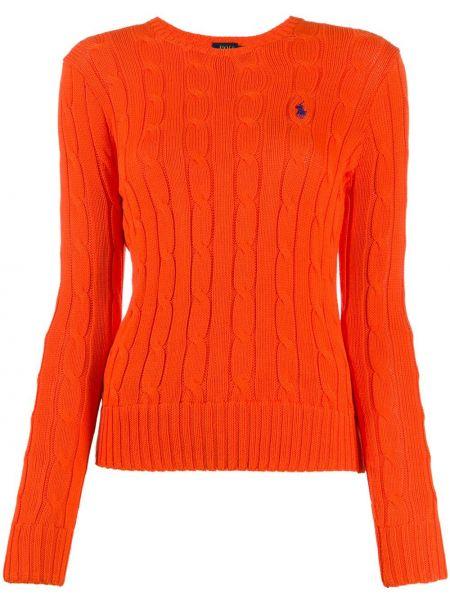 Polo - pomarańczowa Polo Ralph Lauren