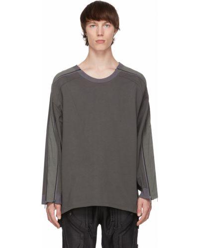 Zielona bluza długa z długimi rękawami bawełniana Blackmerle
