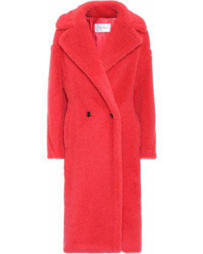Пальто плюшевое из альпаки Max Mara