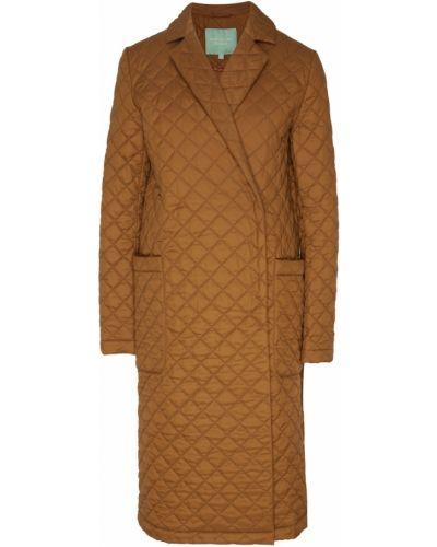 Стеганое пальто с воротником пальто Akhmadullina Dreams