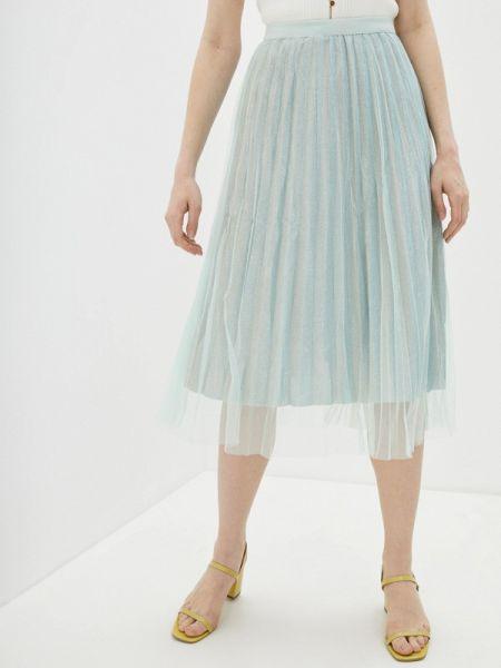 Плиссированная юбка весенняя зеленый By Swan
