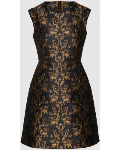Платье мини - черное Alberta Ferretti