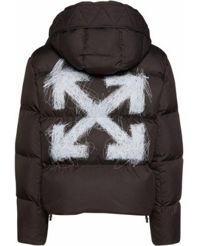 Пуховая куртка - черная Off-white