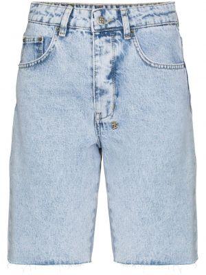 Синие джинсовые шорты Ksubi