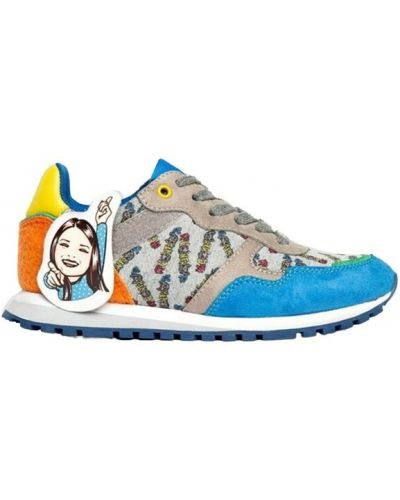 Niebieskie sneakersy Liu Jo