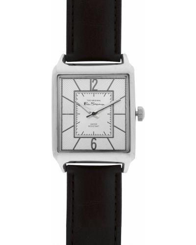 Brązowy klasyczny zegarek kwarcowy skórzany Ben Sherman