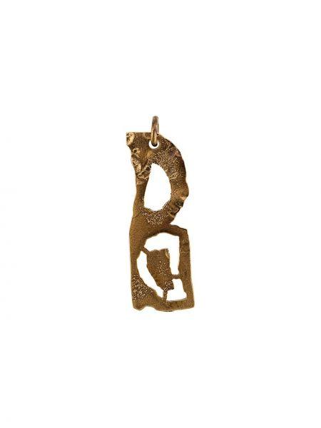 Naszyjnik ze złota Acne Studios