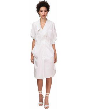 Восточное платье с вышивкой с карманами Vivienne Westwood