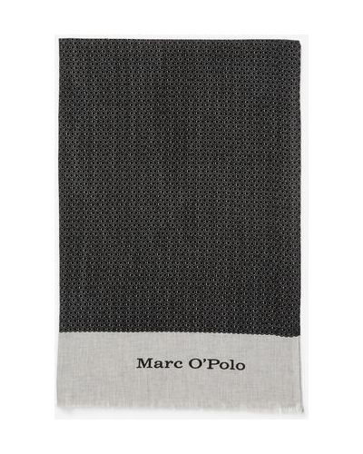 Szal bawełniana z frędzlami Marc O Polo