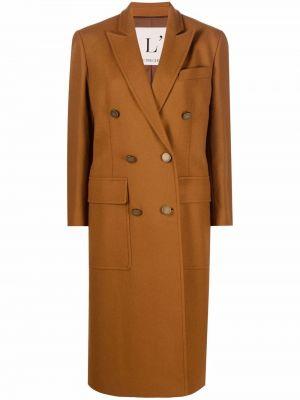 Длинное пальто - коричневое Lautre Chose
