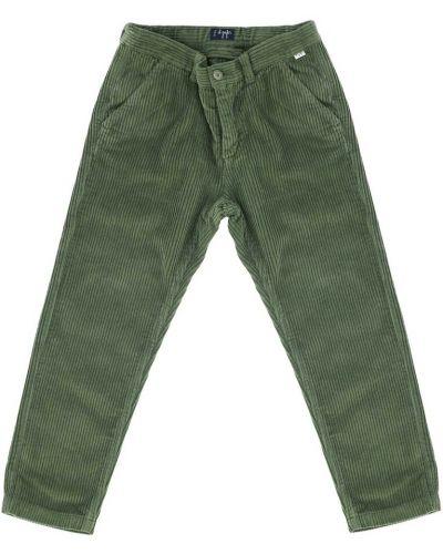Zielone spodnie Il Gufo