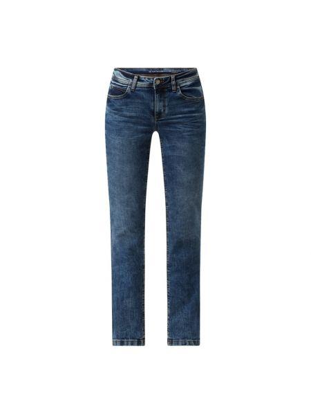 Niebieskie mom jeans bawełniane Tom Tailor