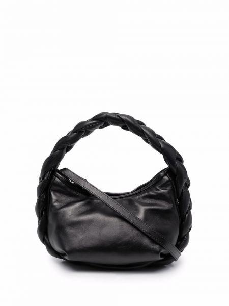 Czarna torebka skórzana Hereu