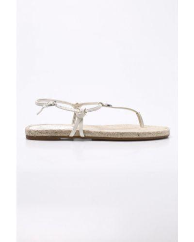 Бежевые сандалии Lauren Ralph Lauren