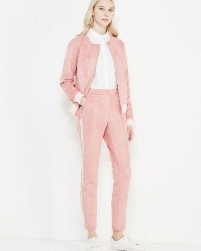 Брючный костюм розовый итальянский Mazal