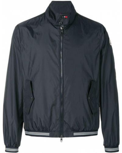 Синяя куртка Moncler