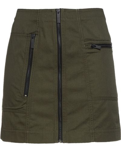Zielona spódnica ołówkowa bawełniana Mcq Alexander Mcqueen
