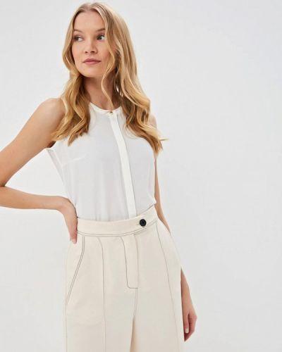 Блузка без рукавов белая весенний Sela