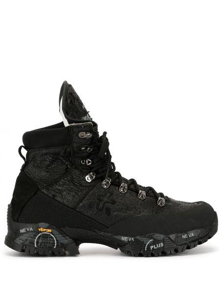 Кожаные ботинки на шнуровке Premiata