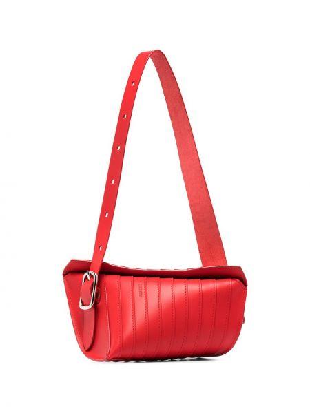 Кожаная красная кожаная сумка Venczel