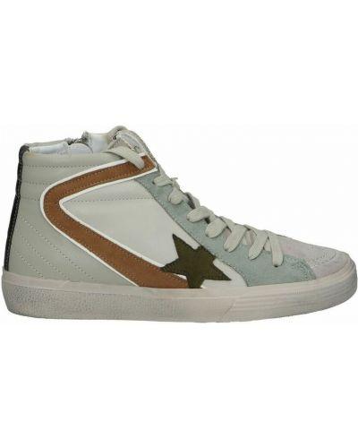 Beżowe sneakersy Corina