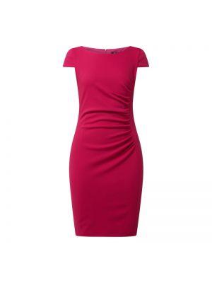 Różowa sukienka mini krótki rękaw Paradi