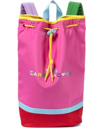 Różowy plecak The Marc Jacobs