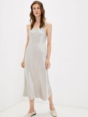 Серебряное зимнее платье Max Mara Leisure