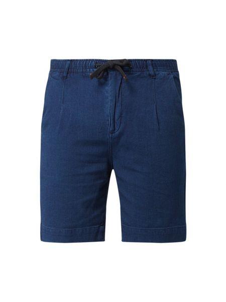 Niebieskie bermudy jeansowe bawełniane Pepe Jeans