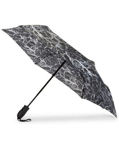 Czarny automatyczny parasol Shedrain