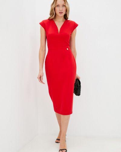 Красное платье осеннее Rich & Naked