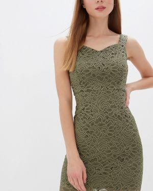 Платье прямое зеленый Vivaldi