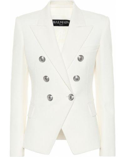 Пиджак белый Balmain