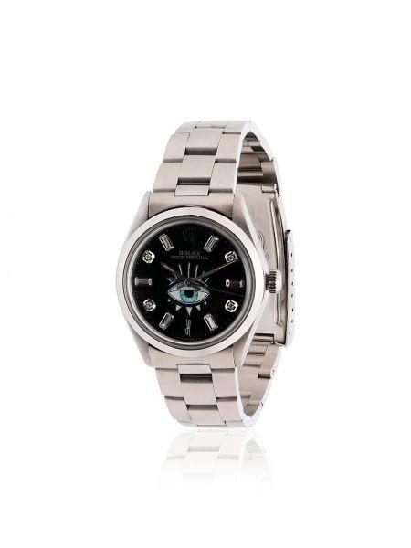 Серебряные часы с бриллиантом Jacquie Aiche