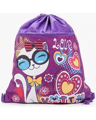 Фиолетовый сумка-рюкзак весенний рюкзак Stelz