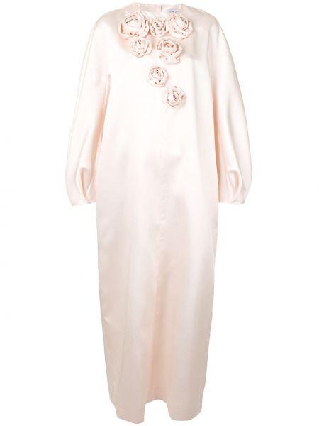 Свободное розовое платье макси свободного кроя Dice Kayek