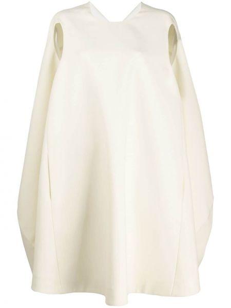Платье миди с открытой спиной с V-образным вырезом Nina Ricci