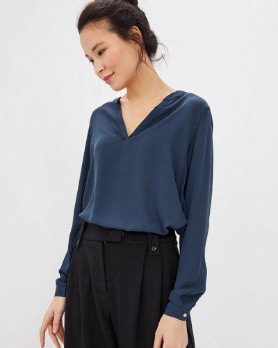 Серая блузка с длинным рукавом Only