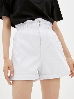Джинсовые шорты - белые Tiffosi