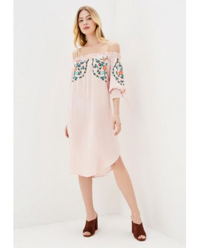 Розовое платье Sweewe