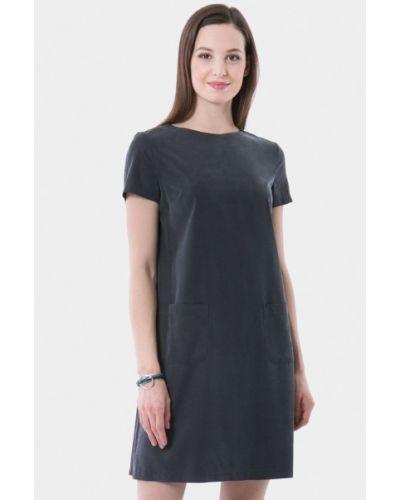 Платье серое платье-сарафан Vladi Collection