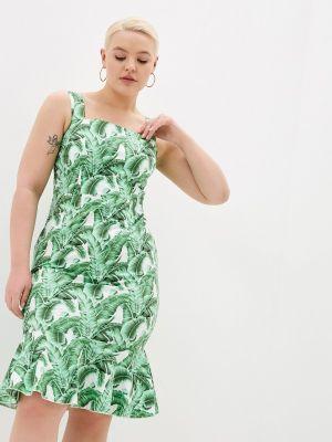 Платье - зеленое мадам т