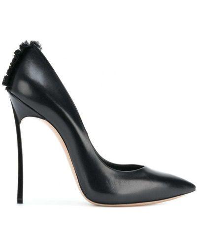 Туфли-лодочки с бахромой Casadei