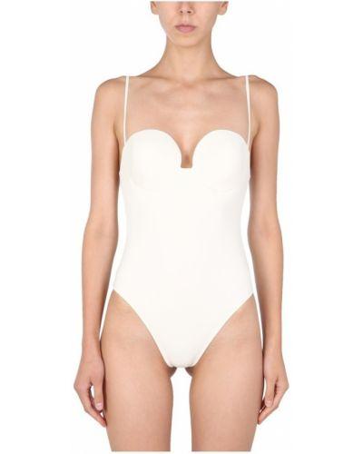 Biały strój kąpielowy Magda Butrym