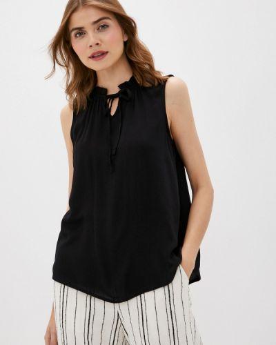 Черная блузка без рукавов без рукавов Defacto