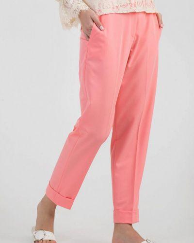 Классические брюки розовый весенний Das