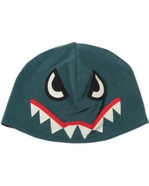 Zielony kapelusz bawełniany z printem Yporqué