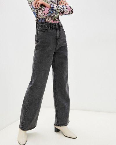 Широкие джинсы - серые Ichi